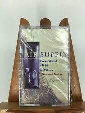 Air Supply Greatest Hits Live: Now & Forever Cassette Tape (1996)