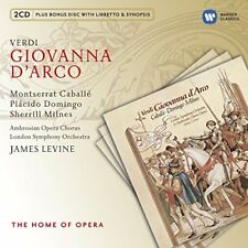 James Levine - Verdi Giovanna DArco [CD]