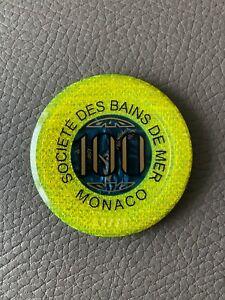 €100 - ORIGINAL Société des Bains de Mer Casino Jeton Monte Carlo Monaco