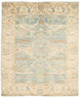 """Vintage Hand-Knotted Carpet 8'0"""" x 9'9"""" Traditional Oriental Wool Area Rug"""