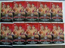 2018 Topps WWE WRESTLING CARDS 10-Pack Lot Retail