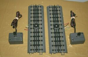 MTH REALTRAX UNCOUPLING TRACK WITH CONTROLLER - SET OF 2