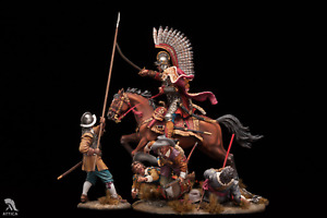 Polish winged hussar chases pikemen Painted Toy Soldier Pre-Sale | Collectible