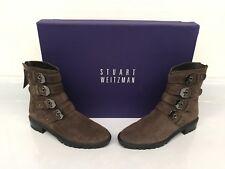 Stuart Weitzman – Jitterbug Boot; Brown Suede – Size 5 M