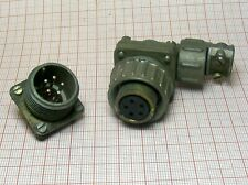 Connector 5-pin to military radio station MALE + FAMALE [M1-SZ1]