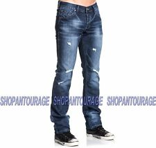 Mens Affliction Distressed Jeans 31x32 Ace Ascended Portland