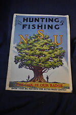 1935 July Hunting and Fishing Magazine
