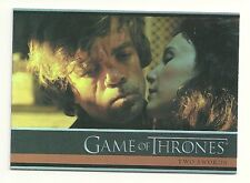 2015 Game of Thrones Season 4 Foil Parallel Card # 1 Two Swords