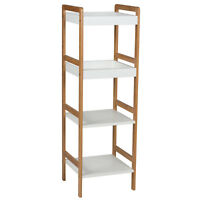 Home Style 4 Tier Shelves Storage Rack Racking Shelving Unit Indoor Living Room
