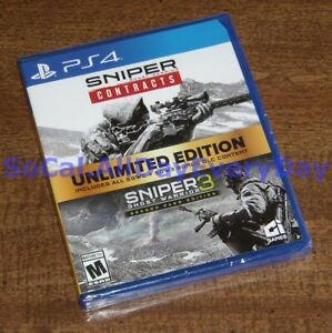 Sniper Ghost Warrior 3 + Contracts UNLIMITED Edition + ALL DLC PlayStation 4 ps4