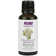 NOW® 100% Natural Jasmine Absolute Oil - 1 oz. Made in USA FREE SHIPPING
