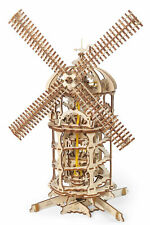 UGears Tower Windmill - Wooden Mechanical Model - 585 Pieces