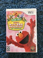 Sesame Street Elmo's A-To-Zoo Adventure The Videogame WB Games