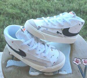 """Nike Blazer Mid '77 BB """"Paint Splatter"""" BRAND NEW Toddler 10C"""