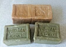 More details for four blocks of vintage soap- puritan soap & mother shipton soap  3 x 2 inch