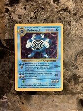 Pokemon Poliwrath Base Set Holo Shadowless 13/102