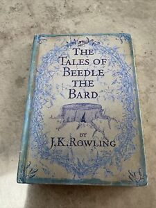 The Tales Of Beedle The Bard FIRST UK EDITION (1/1) By J K Rowling Hardback 2008