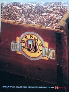 1993 Hornady  Bullets, Ammo, Reloading Equipment Catalog