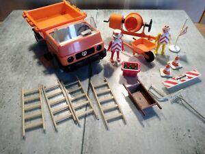Anciens Playmobil  chantier 3474