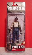 CHAD COLEMAN Signed/Autographed TYREESE THE WALKING DEAD S5 McFarlane Figure JSA