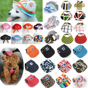 Dog Baseball Cap Hat for Pet Dogs & Puppies Outdoor Accessories Summer Sun Hat*