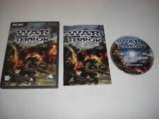 WAR ON TERROR  Pc DVD Rom  FAST DISPATCH