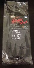 MCR Safety N9676GS Ninja Max Dyneema 10 Gauge Gray Shell Gloves size S Small NEW