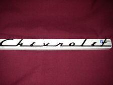 Chevrolet  Script Emblem badge