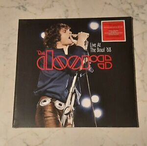 THE DOORS - LIVE AT THE BOWL '68 (180 GR AUDIOPHILE VINYL) LP NUOVO SIGILLATO