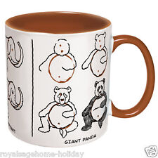 3824 How to Draw Animals Tiger Elephant Panda Bear Mug 12oz Coffee Tea Cup Art