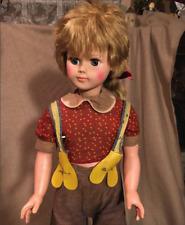 Large plastic vintage Eegee doll