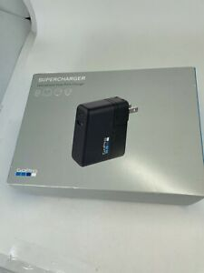 Genuine GoPro Supercharger AWALC-002 International Dual-Port Charger NEW