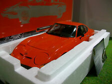 OPEL GT / J orange 1971 au 1/18 MINICHAMPS 180049028 voiture miniature