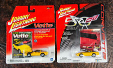 Johnny Lightning 50th 1991 Chevy Corvette C4 Coupe Yellow 1993