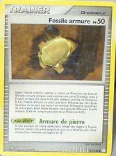 CARTE POKEMON UNCO TRESOR MYSTERIEUX TRAINER FOSSILE ARMURE 116/123  50 PV