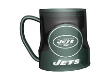 New York Jets Coffee Mug - 18oz Game Time [NEW] NFL Tea Cup Microwave CDG