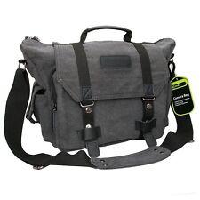 Large Canvas DSLR Camera Bag Messenger Case For Canon T6s T6i T5i T5 T4i 70D 60D
