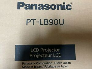 Panasonic PT-LB90U LCD XGA 4:3 3500 Lumens Projector