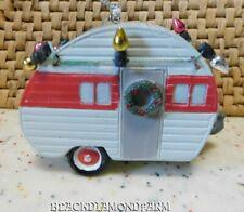Midwest Seasons Camper Ornament*No Box*