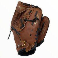 "Mizuno 10.5"" Power Close Prospect Brown Leather Baseball Glove Mitt GPP 1050Y1"