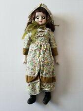 """Vintage 18"""" Porcelain Doll"""