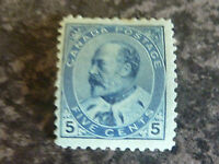 CANADA 5C POSTAGE STAMP SG178/9 LIGHTLY MOUNTED MINT