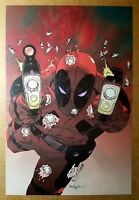 Deadpool Marvel Comics Poster by Jason Pearson