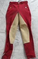 Kentucky Damen Reithose  mit 3/4 Vollbesatz , rot, Gr.76  Orlando-City (5092)