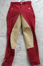 Kentucky Damen Reithose  mit 3/4 Vollbesatz ,rot,Gr.38  Orlando-City (5093)