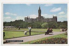 The University, Glasgow Postcard, B112