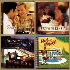 4 X Music Cd's for Dinner Party Entertaining Jazz Easy Listening &