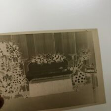 Funeral Photo Negatives Vintage 1948 Mae's Funeral