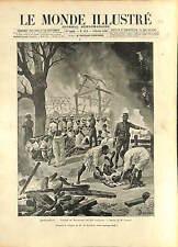 Sakalava Indigenous MADAGASCAR Andévorante Tanimandry GRAVURE 1896