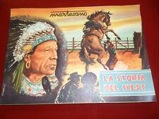"""Album Figurine """"Storia del West""""! Ed.IDAM Martesano!! Vuoto!! NUOVO!! Anni '50"""
